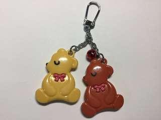 🚚 (可合併運費)小熊造型鑰匙圈