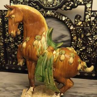 Good Fortune Tang San Chai Horses