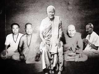 Archan Thong Tao self image rian 2520-Wat Khao Or