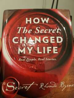 Self Help Book How the Secret Changed My Life