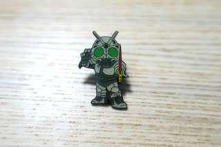 九十代中古幪面超人徽章pin