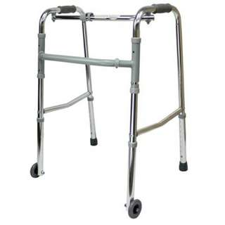BN FREE DELIVERY Foldable Walker with Wheels