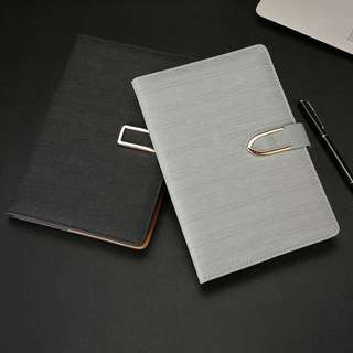 Corporate gift note book (can customize logo)