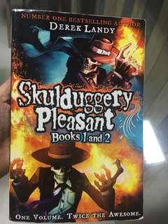 Skulduggery pleasant books 1&2