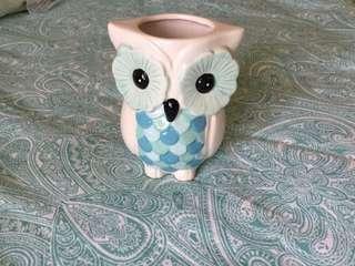 Cute OWL VASE!!
