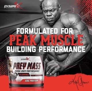 Dynamik Muscle Prey Mass 10lbs - Mass Gainer