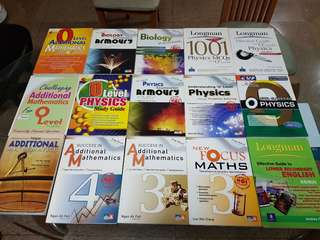 O level and A level books