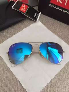 Ray Ban 太陽眼鏡 Rayban Sunglasses Rayban Sunglasses ray ban aviator flash lenses rb3025 58mm size polarized lenses $900 rayban brand new full packages original made in Italy