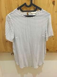 Hnm stripe blouse