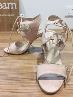 Nude high heel