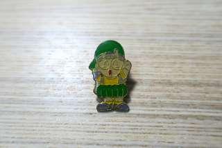 極罕有90件代IQ博士小雲徽章pin
