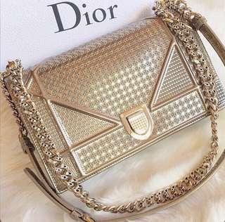 Dior Bag diorama w card and dust bag
