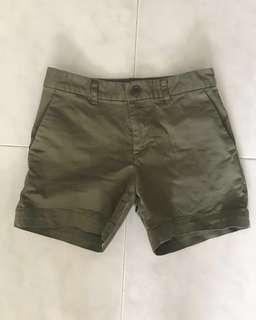 Muji Green Berms/Shorts