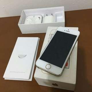 Iphone 5S gold 16gb bekas