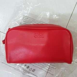 SK2 SKII makeup bag
