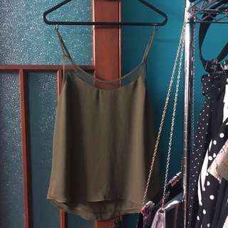 Glassons Olive Green Top