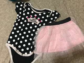 TUTU two piece 9-12mos
