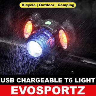USB Rechargeable T6 Light
