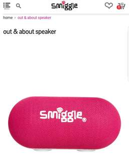Smiggle Loud & About Speaker