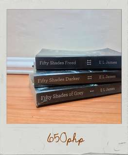 Fifty Shades (Grey, Darker, Freed)