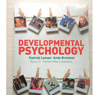 PL3234 no highlights Developmental psychology textbook