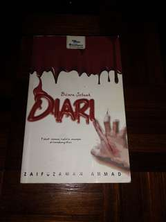 preloved novel : bicara sebuah diari