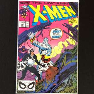 The Uncanny X-Men #248. First Jim Lee Uncanny X-Men issue!