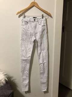 ASOS | White skinny jeans