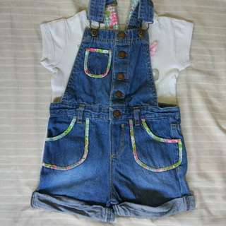 Girl's Jumper with Shirt 3T