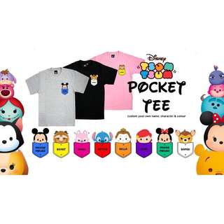 tsum tsum customise t shirt