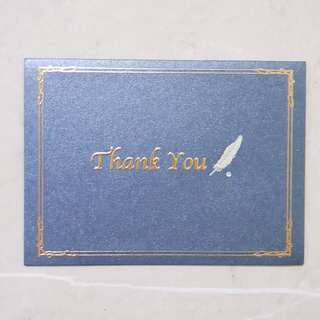 Greeting Card #5 - Thank You