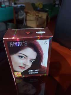 Amir's hair color - chestnut henna