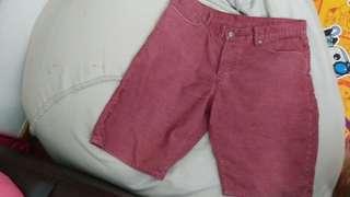 Gap 登心絨短褲 corduroy short pants