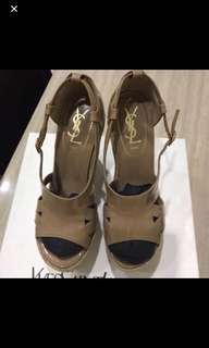 Authentic YSL Wedges size 37