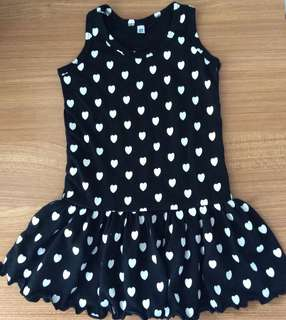Black Heart Dress