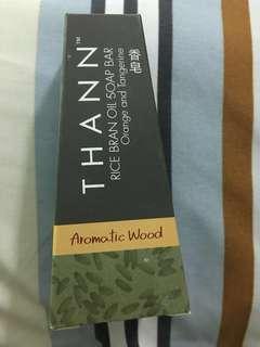 BN - Thann  Aromatic Wood Rice Barn Oil Soap