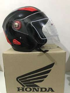 Honda Open Face Helmet BPS Approved Black XL