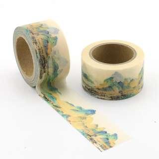 Mountains QC101304 Washi Tape 15mm x 10m
