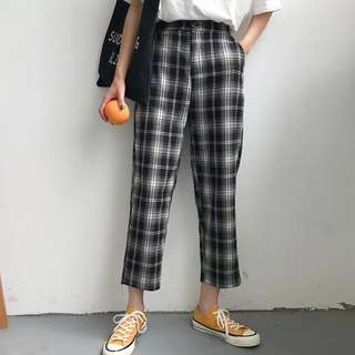 Lindzey checkered pants