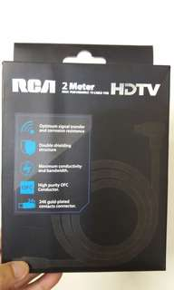 100% new RCA 2M HDTV TV Cable