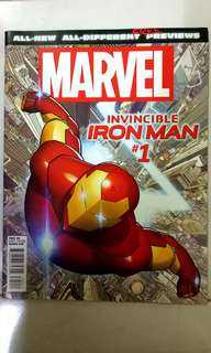 MARVEL COMICS ALL-NEW ALL-DIFFERENT FREE PREVIEWS