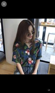 Lindy tropical shirt
