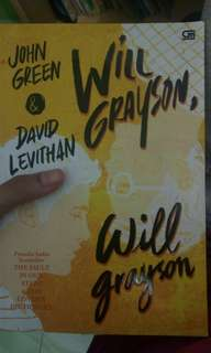 Will Grayson, Will Grayson by John Green&David Levithan