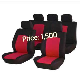 Universal car seat cover set