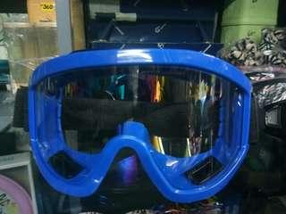 Motorcycle eye protector