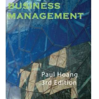 Ib Business and Management Text book
