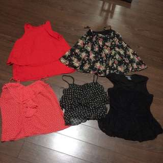 Five tops for $5