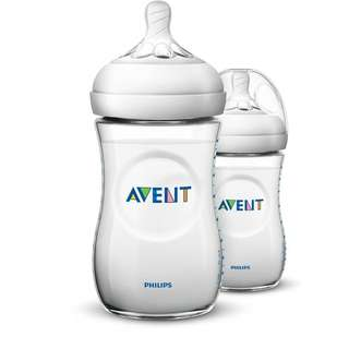 Avent Natural Bottle 9oz / 260ml Twin Pack