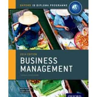 IB Business Management course companion