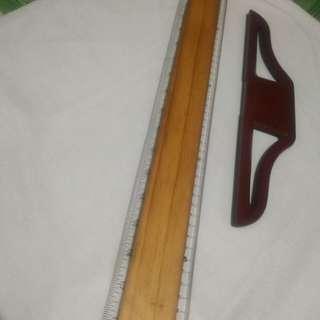 """24"""" Rotring T-square + Staedtler plastic tube"""